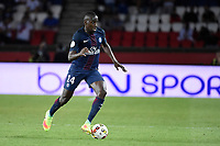 French midfielder Blaise Matuidi of Paris Saint Germain in action during the French Championship Ligue 1 football match between Paris Saint-Germain and AS Saint Etienne on September 9, 2016 at Parc des Princes stadium in Paris, France - Photo JMH / DPPI