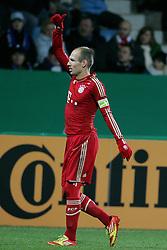 20-12-2011 VOETBAL: DFB POKAL VFL BOCHUM - FC BAYERN MUNCHEN: BOCHUM<br /> Achtste finale beker / Arjen Robben scoort de winnende<br /> ***NETHERLANDS ONLY***<br /> ©2011-FRH- NPH/Mueller