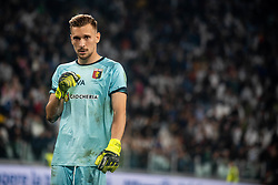 October 20, 2018 - Turin, Piedmont, Italy - Ionut Radu of Genoa during the Serie A match between Juventus and Genoa at the Allianz Stadium, the final score was 1-1 in Turin, Italy on 20 October 2018. (Credit Image: © Alberto Gandolfo/Pacific Press via ZUMA Wire)