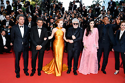 Paolo Sorrentino, Gabriel Yared, Jessica Chastain, Pedro Almodovar, Fan Bingbing, Will Smith, Agnes Jaoui,Maren Ade and Park Chan-wook attending the Soiree 70eme Anniversaire during the 70th Cannes Film Festival on May 23, 2017 in Cannes, France. Photo by Julien Zannoni/APS-Medias/ABACAPRESS.COM