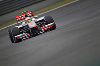 MOTORSPORT - F1 2012 - CHINA GRAND PRIX - SHANGHAI (CHN) - 15 TO 18/04/2012 - PHOTO : FREDERIC LE FLOCH / DPPI - <br /> HAMILTON LEWIS (GBR) - MCLAREN MERCEDES MP4-27 - ACTION