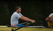 Henley. Great Britain.   Molesey Eights 40+ and 50+ 175th  Henley Royal Regatta, Henley Reach. England. 07:48:51  Sunday  06/07/2014. [Mandatory Credit; Intersport-images] <br /> <br /> Crews 40's Bow, Dan RITCHIE, James WRIGHT, Jonny SEARLE, Guy POOLEY, Alex Partridge, Mike BLOMQUIST, Simon FIELDHOUSE, Dave GILLARD, Neil CHUGANI,<br /> <br /> 50's Richard STANHOPE, Martin CROSS, Malcolm MCGOWAN, Joe MICHELS, Jean CHRISTOPHE-ROLLAND, Matt PINSENT, Ian MCNUFF, Diederik SIMON cox Gary HERBERT
