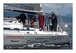 Largs Regatta Week - August 2012..FRA 37296,  Salamander XXI,  John Corson