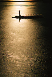 The Statue Of Liberty in Golden Light