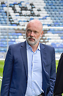Fleetwood Town Manager, Uwe Rosler arrives at fraction park during the EFL Sky Bet League 1 match between Portsmouth and Fleetwood Town at Fratton Park, Portsmouth, England on 16 September 2017. Photo by Adam Rivers.