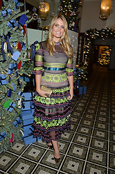 LONDON, ENGLAND 1 DECEMBER 2016: Lady Kitty Spencer at the Smythson & Brown's Hotel Christmas Party held at Brown's Hotel, Albemarle St, Mayfair, London, England. 1 December 2016.