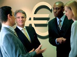 Dec. 05, 2012 - Business people and euro (Credit Image: © Image Source/ZUMAPRESS.com)
