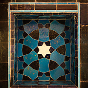 Mosaic tiles in the Tiled Kiosk at the Istanbul Archaeology Museums. The Tiled Kiosk was commissioned by Sultan Mehmed II in 1472 and is one of the oldest buildings in Istanbul. It features Ottoman civil architecture, and was a part of the Topkapı Palace outer gardens. It was used as the Imperial Museum between 1875 and 1891 before the collection moved to the newly constructed main building. It was opened to public in 1953 as a museum of Turkish and Islamic art, and was later incorporated into the Istanbul Archaeology Museum. The Istanbul Archaeology Museums, housed in three buildings in what was originally the gardens of the Topkapi Palace in Istanbul, Turkey, holds over 1 million artifacts relating to Islamic art, historical archeology of the Middle East and Europe (as well as Turkey), and a building devoted to the ancient orient.