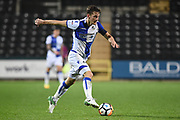 Bristol Rovers defender Tom Lockyer (4) during the The FA Cup match between Notts County and Bristol Rovers at Meadow Lane, Nottingham, England on 3 November 2017. Photo by Jon Hobley.