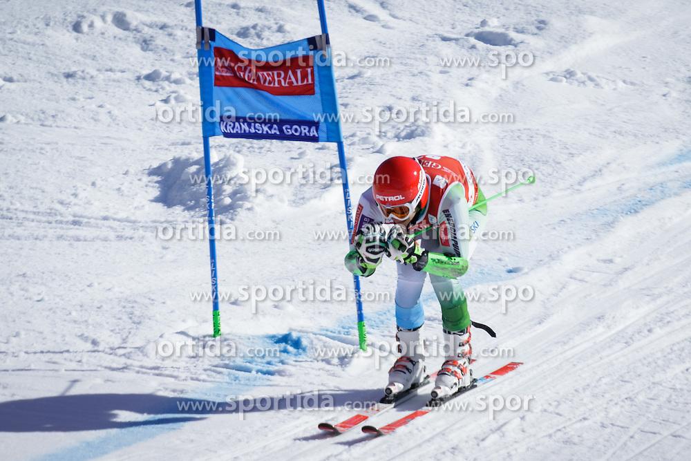 Zan Kranjec (SLO) during Men Giant Slalom race of FIS Alpine Ski World Cup 55th Vitranc Cup 2015, on March 4, 2016 in Kranjska Gora, Slovenia. Photo by Ziga Zupan / Sportida