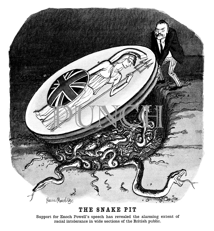 The Snake Pit. Support for Enoch Powell's speech has revealed the alarming extent of racial intolerance in wide sections of the British public.