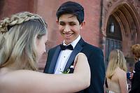 St Paul's School junior prom.  ©2018 Karen Bobotas Photographer