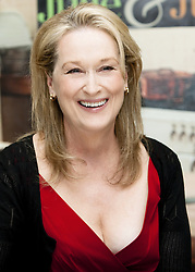 July 27, 2009 - Hollywood, California, U.S. - MERYL STREEP promotes 'Julie & Julia.' Mary Louise 'Meryl' Streep (born June 22, 1949) is an American actress of stage and screen, and philanthropist. Streep is particularly known for her versatility in her roles, transformation into the characters she plays, and her accent adaptation. She made her professional stage debut in The Playboy of Seville in 1971, and in 1976 received a Tony Award nomination for Best Featured Actress in a Play for A Memory of Two Mondays/27 Wagons Full of Cotton. She made her screen debut in the 1977 television film The Deadliest Season, and made her film debut later that same year in Julia. In 1978, she won an Emmy Award for her role in the miniseries Holocaust, and received her first Academy Award nomination for The Deer Hunter. Nominated for 20 Academy Awards in total, Streep has more nominations than any other actor or actress; she won Best Supporting Actress for Kramer vs. Kramer (1979), and Best Actress for Sophie's Choice (1982) and The Iron Lady (2011). Streep is one of the six actors to have won three or more competitive Academy Awards for acting. Her other nominated roles are The French Lieutenant's Woman (1981), Silkwood (1983), Out of Africa (1985), Ironweed (1987), Evil Angels (1988), Postcards from the Edge (1990), The Bridges of Madison County (1995), One True Thing (1998), Music of the Heart (1999), Adaptation (2002), The Devil Wears Prada (2006), Doubt (2008), Julie & Julia (2009), August: Osage County (2013), Into the Woods (2014) and Florence Foster Jenkins (2016). She returned to the stage for the first time in over 20 years in The Public Theater's 2001 revival of The Seagull, won a second Emmy Award in 2004 for the HBO miniseries Angels in America (2003), and starred in the Public Theater's 2006 production of Mother Courage and Her Children. In 2017, Streep was awarded the Golden Globe Cecil B. DeMille Award. Upcoming:  Mary Poppins Returns (2018).  (Credit Image: © Ar