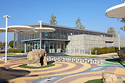 Visitor Center at Orange County Great Park Irvine
