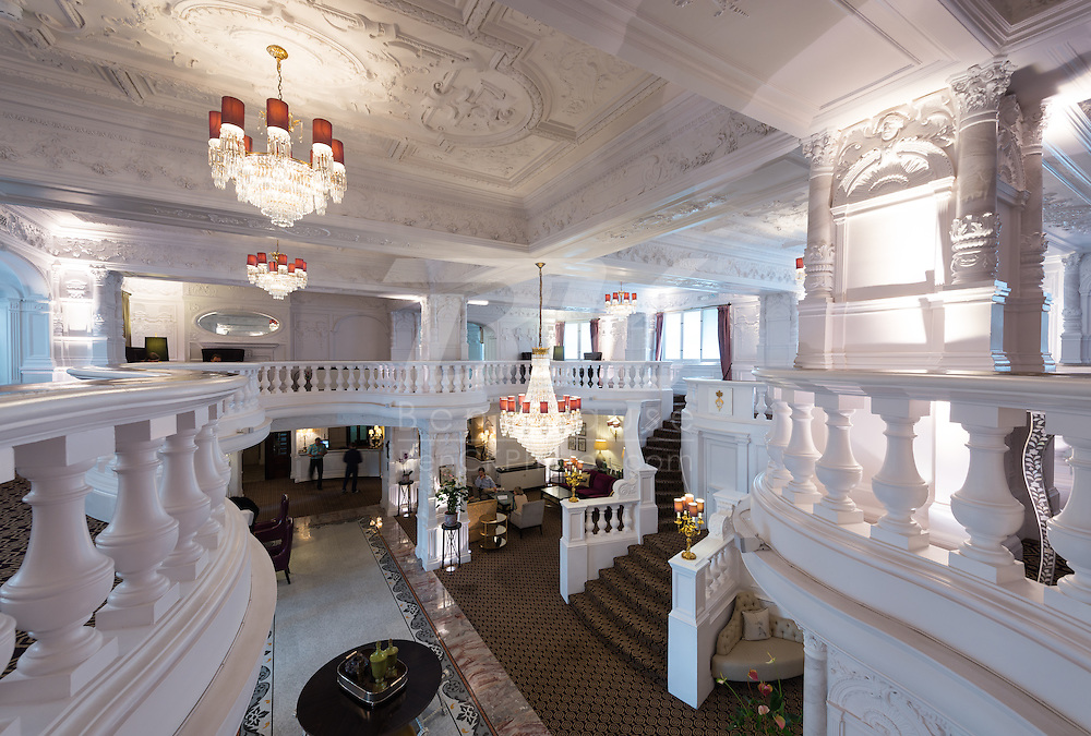 This is the lobby of the St. Ermin's Hotel where we stayed while in London, England.