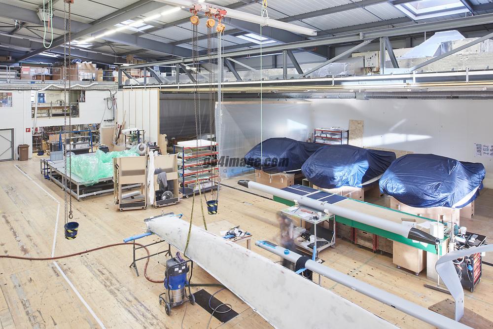 Switzerland, Ecubens 31. October 2017 Inside Shipyard Descision