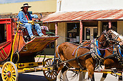 Horse drawn stagecoach, Tombstone, Arizona USA