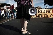 Manifestazione nazionale per i Beni e contro le privatizzazioni, Roma 17 maggio 2014.  Christian Mantuano / OneShot