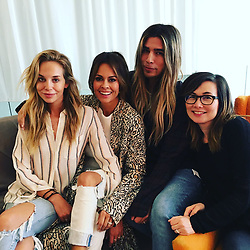 """Brooke Burke-Charvet releases a photo on Twitter with the following caption: """"""""Want to go behind the scenes on what it takes to get red carpet ready?....My Glamily breaks it down on @NakedMomPod! https://t.co/4mHw08XckN"""""""". Photo Credit: Twitter *** No USA Distribution *** For Editorial Use Only *** Not to be Published in Books or Photo Books ***  Please note: Fees charged by the agency are for the agency's services only, and do not, nor are they intended to, convey to the user any ownership of Copyright or License in the material. The agency does not claim any ownership including but not limited to Copyright or License in the attached material. By publishing this material you expressly agree to indemnify and to hold the agency and its directors, shareholders and employees harmless from any loss, claims, damages, demands, expenses (including legal fees), or any causes of action or allegation against the agency arising out of or connected in any way with publication of the material."""