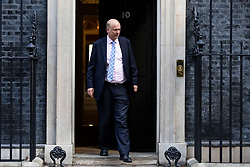 © Licensed to London News Pictures. 16/10/2018. London, UK. Transport Secretary Chris Grayling leaves 10 Downing Street after the Cabinet meeting. Photo credit: Rob Pinney/LNP