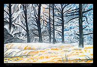 """Angel Terrace 2"" - 20 x 30 inches, acrylic on canvas."