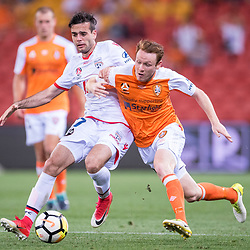 13th October 2017 - A-League RD2: Brisbane Roar v Adelaide United