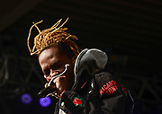Mir Fontane performs at Chevy Court, Thursday, August 22, 2018, at the New York State Fair in Syracuse, N.Y.