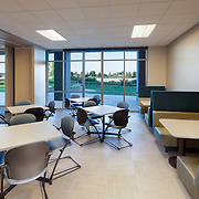 Interior TI of Allstate Office taken for HMH Builders