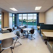 Interior TI of Allstate Office taken for HMH Builders