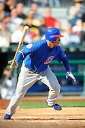 Chicago Cubs right fielder Kosuke Fukudome of Japan.