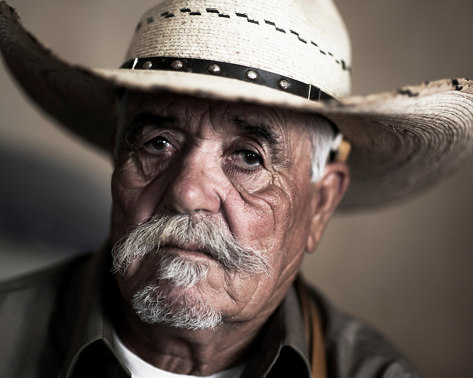 United Farmworker member and long-time farm worker Gonzalo Picazo at his home in Salinas, California.