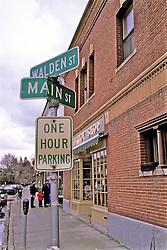 Walden Street Sign