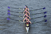 Chiswick. London. Saturday. 23.01.2016. Quintin Head. University of London Women's Elite. River Thames.   [Mandatory Credit: Peter Spurrier/Intersport-images.com]
