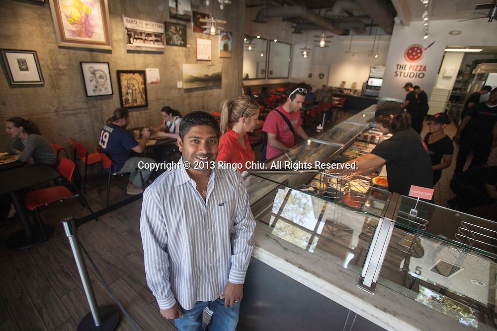 Samit Varma of Pizza Studio. (Photo by Ringo Chiu/PHOTOFORMULA.com)