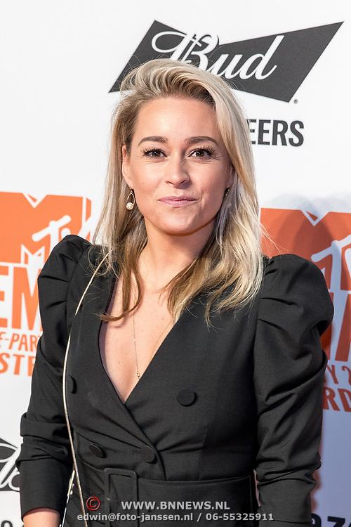 NLD/Amsterdam/20191028 - MTV Pre Party in Amsterdam, Ingrid Jansen