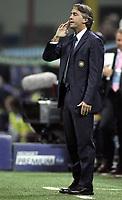 """Milano 31/10/07 Stadio """"Giuseppe Meazza""""<br />Campionato Italiano Serie A 2007/08<br />Inter-Genoa (3-1)<br />Roberto Mancini (Inter) <br />Photographer:Jennifer Lorenzini INSIDE"""