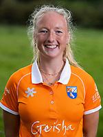 BLOEMENDAAL  -  Laurien Boot (Bldaal) . Bloemendaal Dames I , hoofdklasse seizoen 2020/2021 COPYRIGHT KOEN SUYK