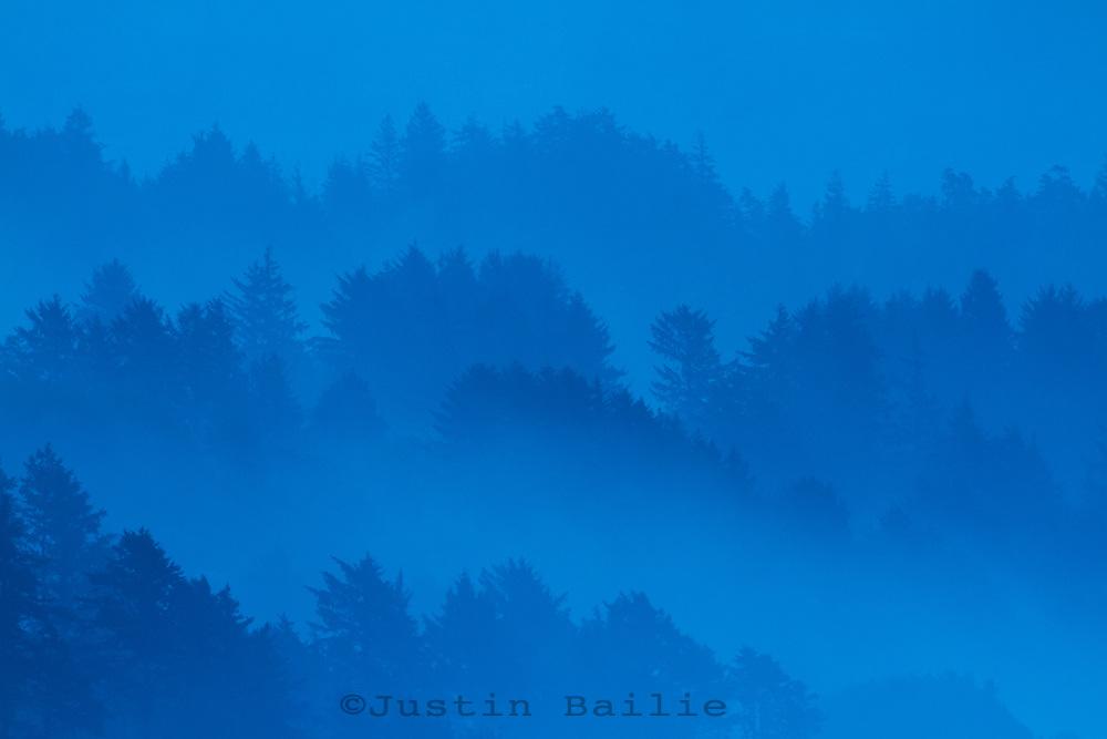 Early morning shot of Manzanita, Oregon.