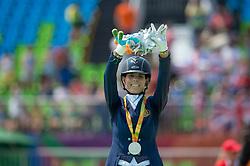 Geroge Michele (BEL) - Rainman<br /> Team Test - Grade IV - Dressage <br /> Paralympic Games - Rio 2016<br /> © Hippo Foto - Jon Stroud