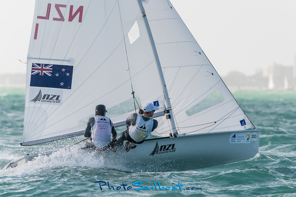 Round two of the Sailing's World Cup Series 2018, was held at Regatta Park in Miami, Florida. Over 500 athletes were graced with various wind conditions between Jan 21-28 of 2018.