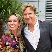 NLD/Hilversum/20180828 -  Persviewing nieuw tv-seizoen NPO, Saskia Weerstand en Klaas van Kruistum
