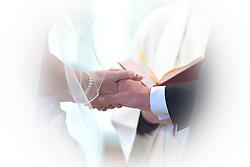 Wedding at St Marys Church Harlington in Bedfordshire
