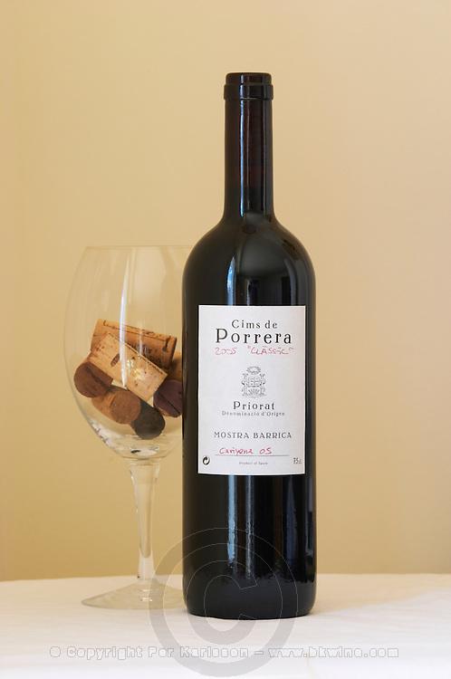 Cims de Porrera 2005 Classic Mostra Barrica Carinyena 2005. Carignan barrel sample. Priorato, Catalonia, Spain.