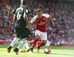 July 30, 2017 - London, England, United Kingdom - Arsenal's Mesut Ozil.during Emirates Cup match between Arsenal  against Savilla FC   at Emirates Stadium on 30 July 2017  (Credit Image: © Kieran Galvin/NurPhoto via ZUMA Press)