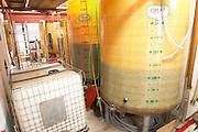 Domaine Pietri-Geraud Roussillon. Fibreglass vats. France. Europe.
