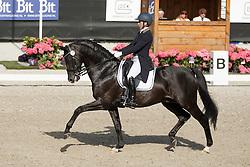 Van Kemenade-Witlox Mirelle, (NED), Decor Just Royal Dancer<br /> Kingsley Donadeo Grand Prix<br /> Dutch Championship Dressage - Ermelo 2015<br /> © Hippo Foto - Dirk Caremans<br /> 17/07/15