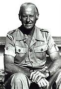 Thor Heyerdahl (1914-2002) Norwegian ethnographer and adventurer.
