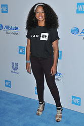 Monique Coleman arrives at We Day California 2017 held at The Forum in Inglewood, CA on Thursday, April 27, 2017. (Photo By Sthanlee B. Mirador) *** Please Use Credit from Credit Field ***