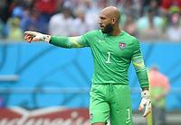 Fotball<br /> Tyskland v USA<br /> 26.06.2014<br /> VM 2014<br /> Foto: Witters/Digitalsport<br /> NORWAY ONLY<br /> <br /> Torwart Tim Howard (USA)<br /> Fussball, FIFA WM 2014 in Brasilien, Vorrunde, USA - Deutschland