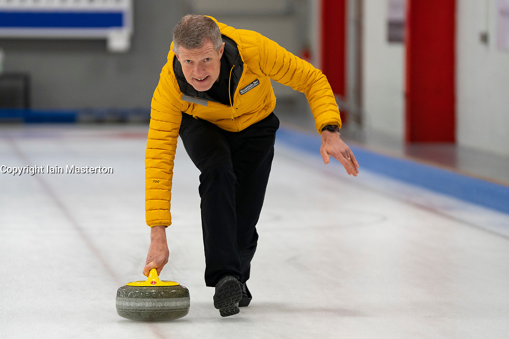 Edinburgh, Scotland, UK. 29th November 2019. Scottish Liberal Democrat Leader Willie Rennie was joined by Liberal Democrat MP candidates to launch the party's General Election manifesto at the Edinburgh Curling Rink. Pictured;  Iain Masterton/Alamy Live News.